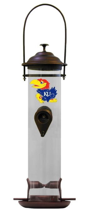 Kansas Jayhawks Bird Feeder