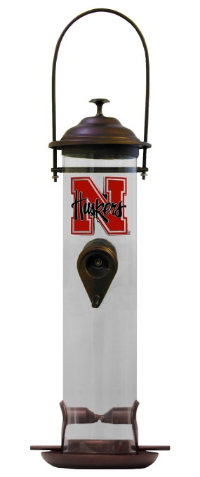 Nebraska Cornhuskers Bird Feeder