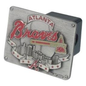 Atlanta Braves Hitch Cover