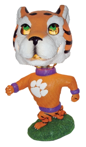 Clemson Tigers Big Head Lamp