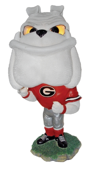 Georgia Bulldogs Big Head Lamp