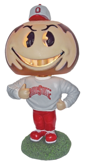 Ohio State Buckeyes Big Head Lamp