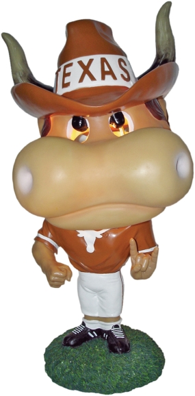 Texas Longhorns Big Head Lamp