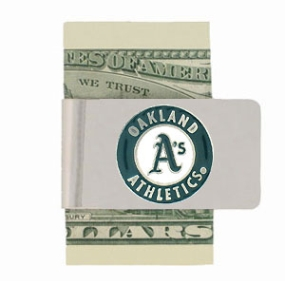 Oakland A's Money Clip