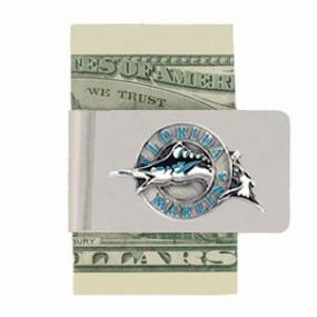 Florida Marlins Money Clip