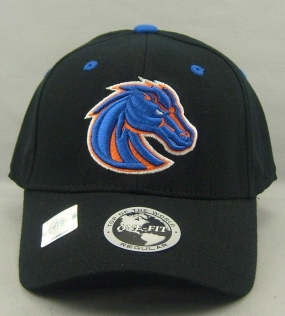 Boise State Broncos Black One Fit Hat