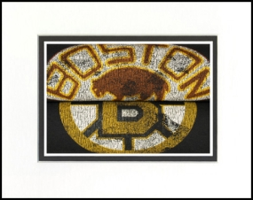 Boston Bruins Vintage T-Shirt Sports Art