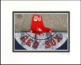 Boston Red Sox Vintage T-Shirt Sports Art