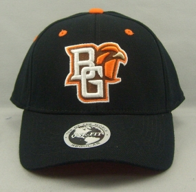 Bowling Green Falcons Black One Fit Hat
