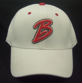 Bradley University Braves White One Fit Hat
