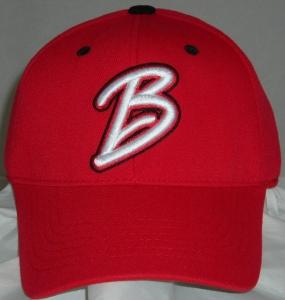 Bradley University Braves Team Color One Fit Hat