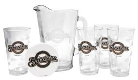 Milwaukee Brewers Pitcher Set