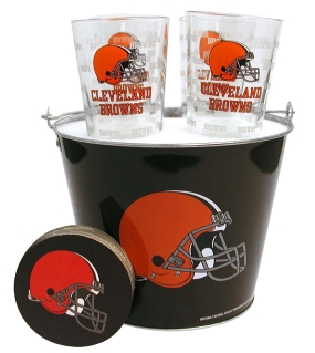 Cleveland Browns Gift Bucket Set