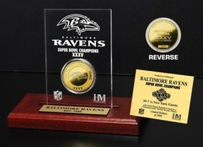 Baltimore Ravens SB Champs Etched Acrylic