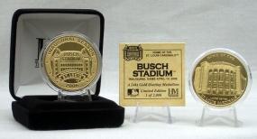New Busch Stadium Inaugural Season Gold Coin