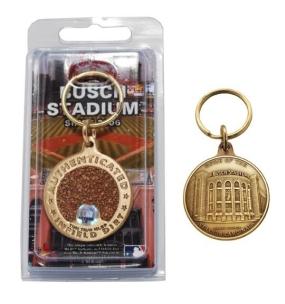 Busch Stadium Bronze Infield Dirt Keychain