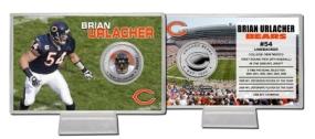 Brian Urlacher Silver Coin Card