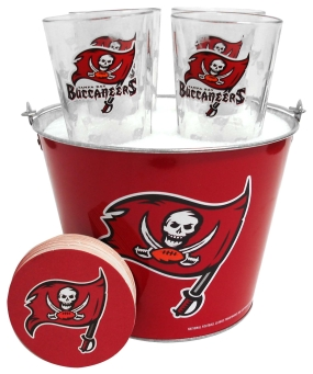 Tampa Bay Buccaneers Gift Bucket Set