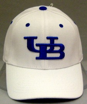 Buffalo Bulls White One Fit Hat