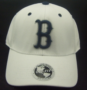 Butler Bulldogs White One Fit Hat
