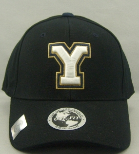 Brigham Young Cougars Black One Fit Hat