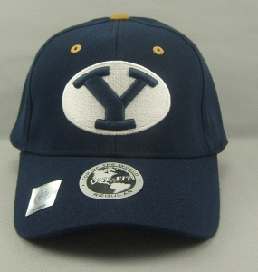 Brigham Young Cougars Team Color One Fit Hat