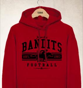 Tampa Bay Bandits Logo Hoody