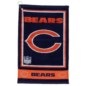 Chicago Bears Jacquard Golf Towel