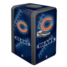 Chicago Bears Portable Party Refrigerator