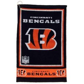 Cincinnati Bengals Jacquard Golf Towel
