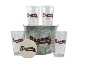 Atlanta Braves Gift Bucket Set
