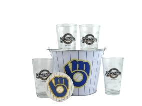 Milwaukee Brewers Gift Bucket Set