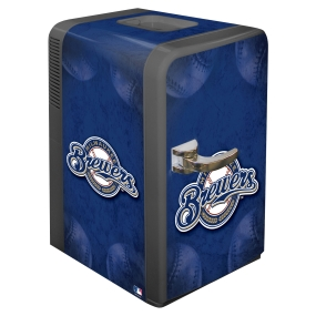 Milwaukee Brewers Portable Party Refrigerator