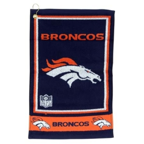 Denver Broncos Jacquard Golf Towel