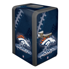 Denver Broncos Portable Party Refrigerator