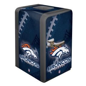 Denver Broncos Portable Party Refrigerator