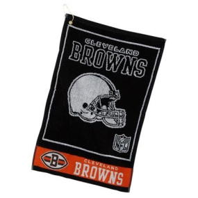 Cleveland Browns Jacquard Golf Towel