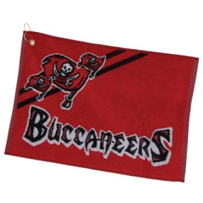 Tampa Bay Buccaneers Jacquard Golf Towel