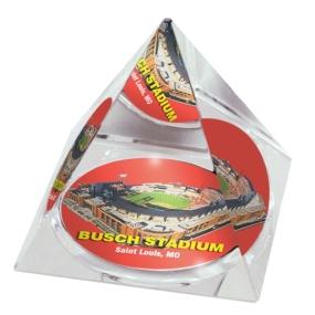 Saint Louis Cardinals Crystal Pyramid