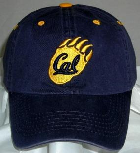 California Golden Bears Adjustable Crew Hat