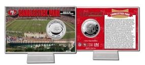 Candlestick Park Silver Coin Card