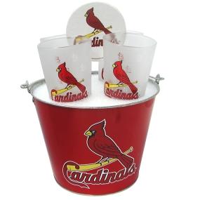 St. Louis Cardinals Gift Bucket Set