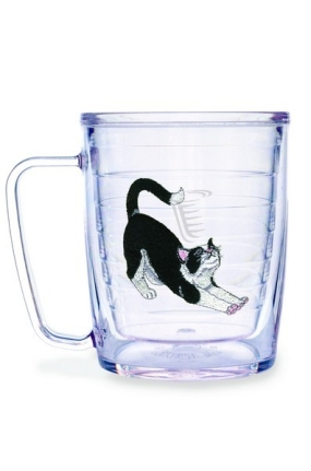 CAT BLACK/WHITE MUG
