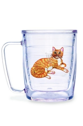 CAT ORANGE TABBY MUG