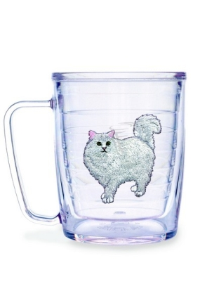 CAT WHITE PERSIAN MUG