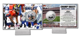 Champ Bailey Silver Coin Card