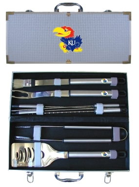 Kansas Jayhawks BBQ Grilling Set
