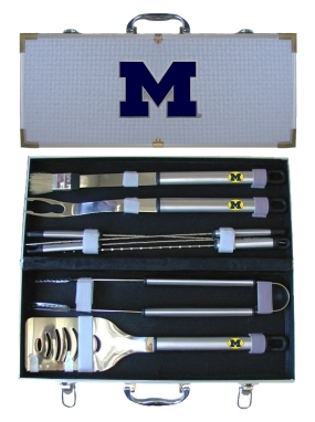 Michigan Wolverines BBQ Grilling Set