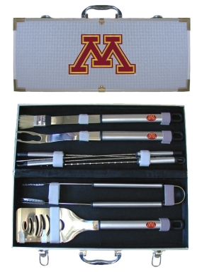 Minnesota Golden Gophers BBQ Grilling Set