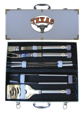 Texas Longhorns BBQ Grilling Set